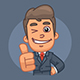 Businessman Stickers Pack - GraphicRiver Item for Sale