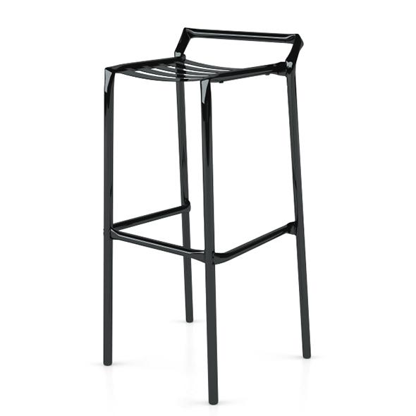 Straw Bar Stool Metal - 3DOcean Item for Sale
