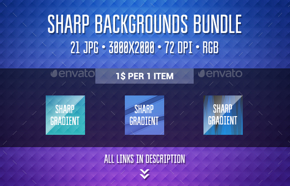 Sharp Backgrounds Bundle - Abstract Backgrounds