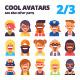 Set of Avatars Part 2/3 - GraphicRiver Item for Sale