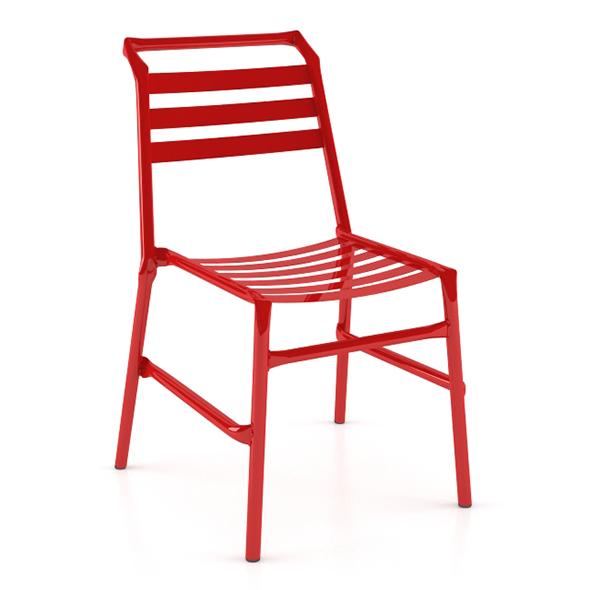 Straw O35 Modern Metal Chair - 3DOcean Item for Sale