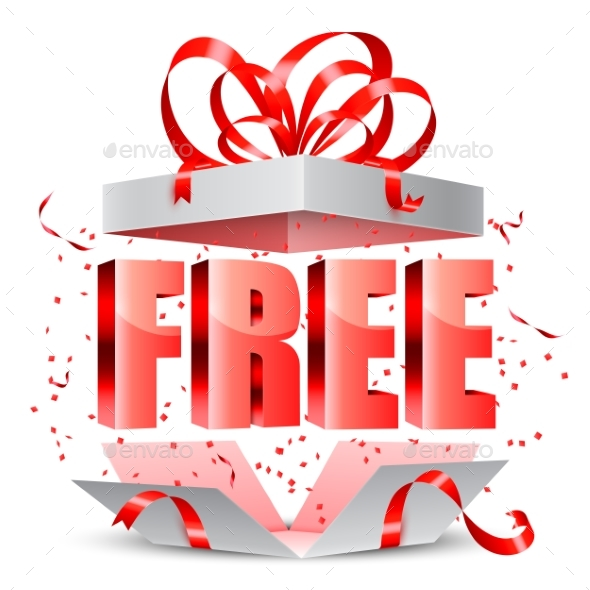Free Gift Box - Retail Commercial / Shopping