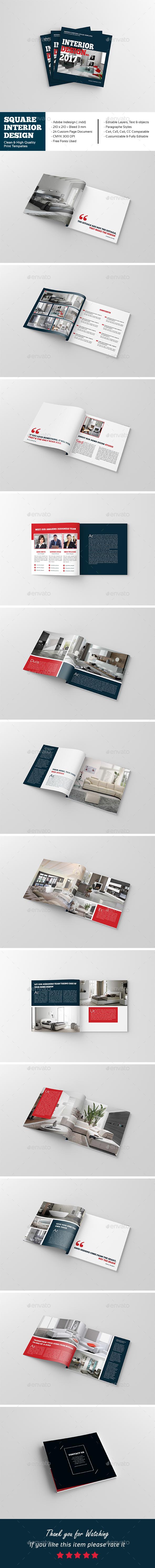 Square Interior Design Brochure - Catalogs Brochures