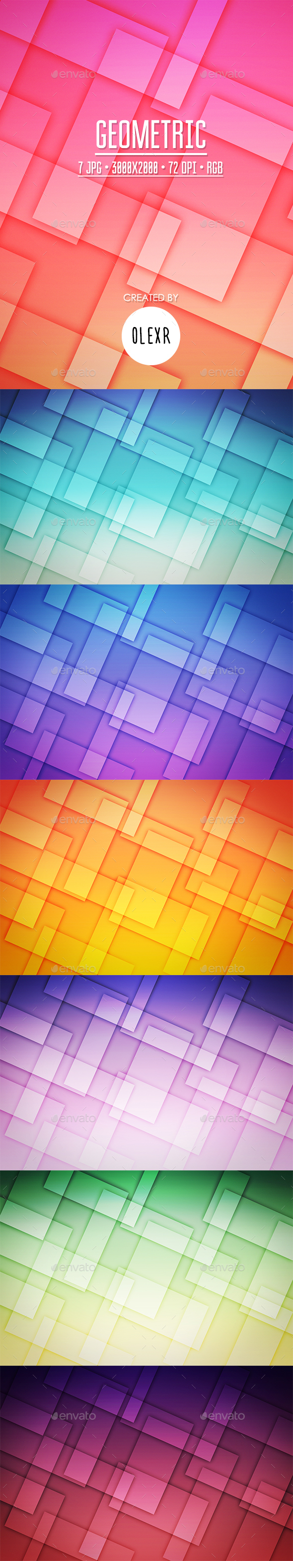 Geometric Backgrounds - Abstract Backgrounds