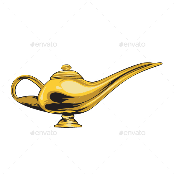 Magic Lamp - Man-made Objects Objects