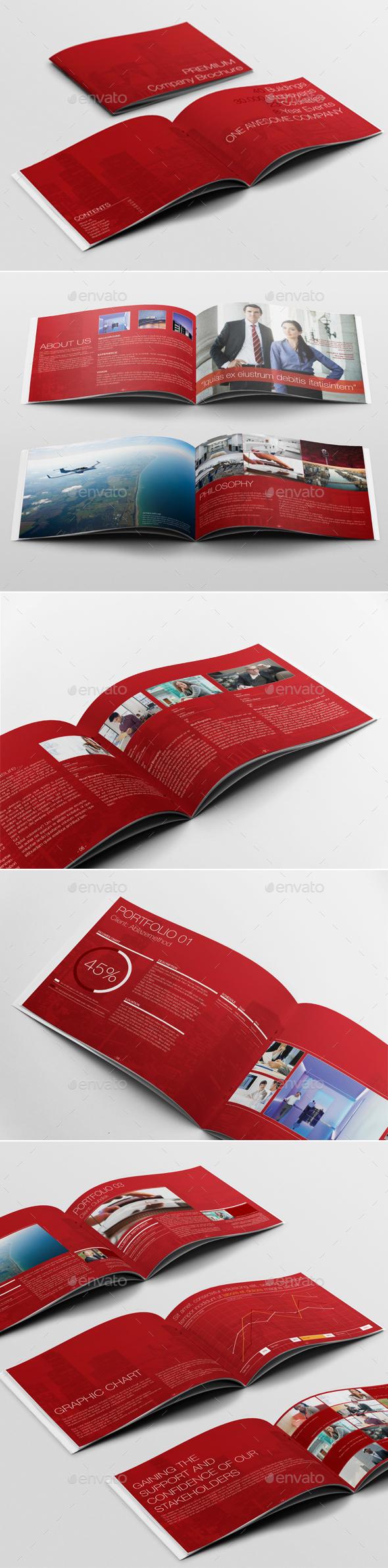 Premium Corporate Brochure - Corporate Brochures