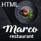 Marco - Modern & Unique Restaurant Template - ThemeForest Item for Sale