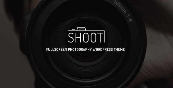 Shoot – Fullscreen Photography WordPress Theme