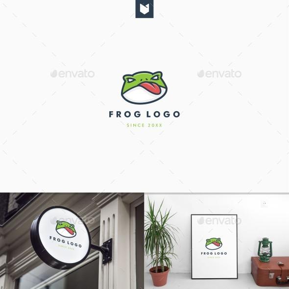Frog Logo - Animals Logo Templates