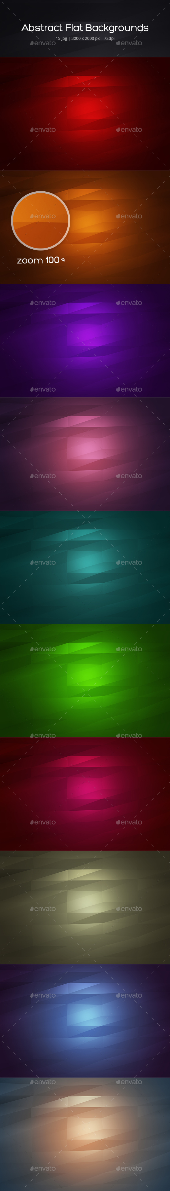 Abstract Flat Backgrounds - Backgrounds Graphics