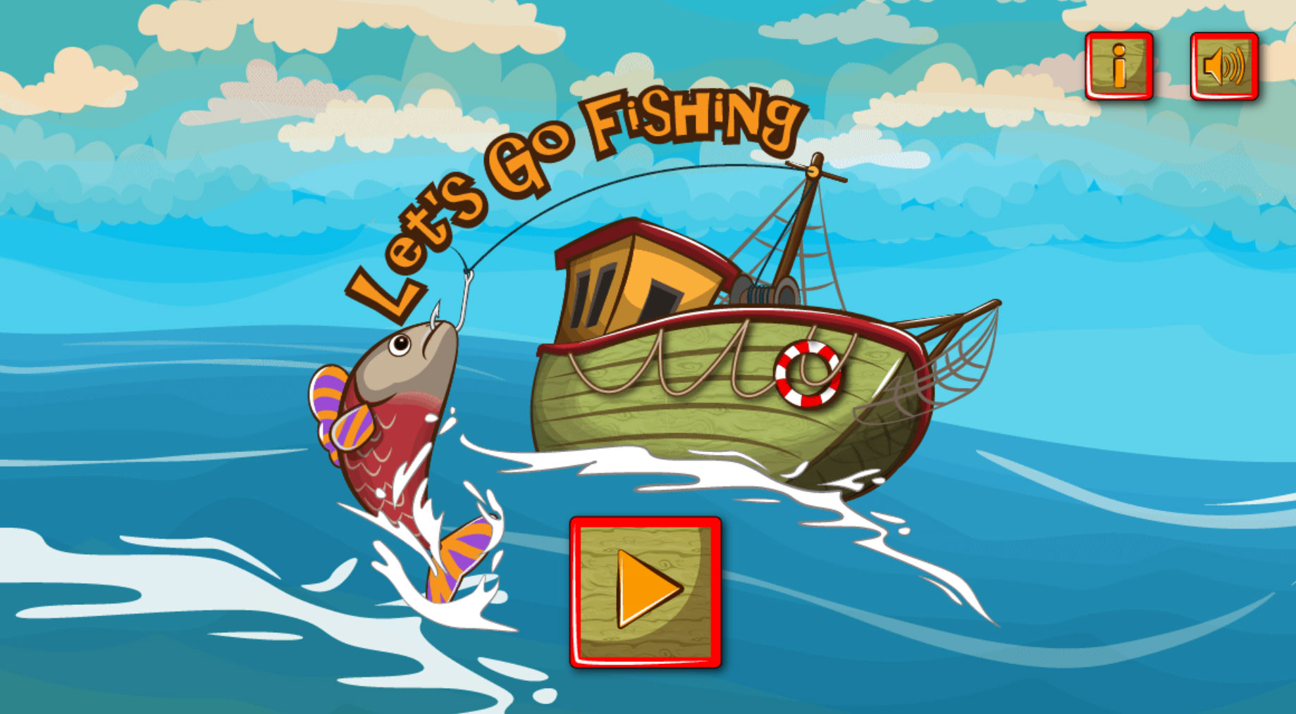 Let 39 s go fishing html5 construct 2 skill game by for Lets go fishing game