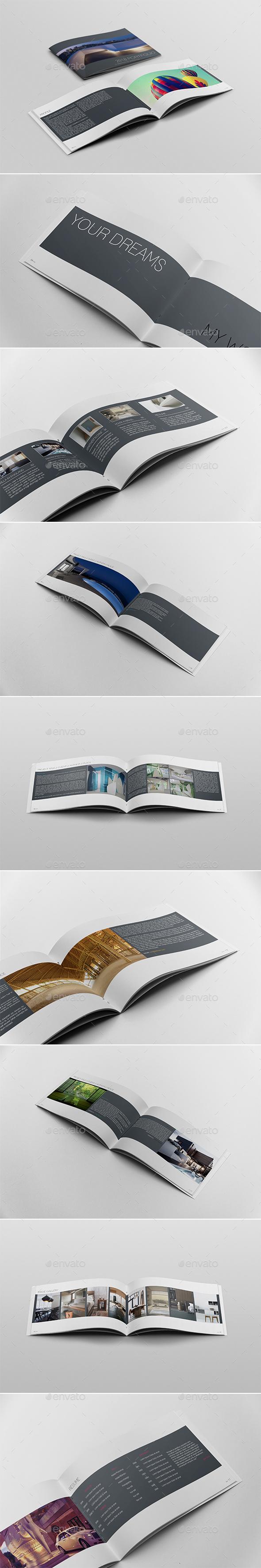 Portfolio & Resume Template - Portfolio Brochures
