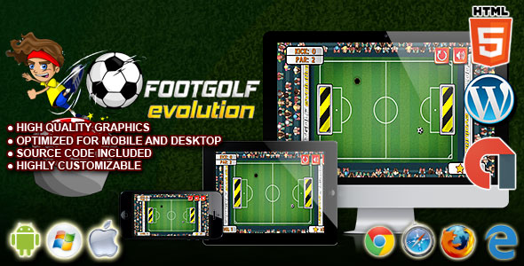 Footgolf Evolution - HTML5 Construct 2 Sport Game - CodeCanyon Item for Sale