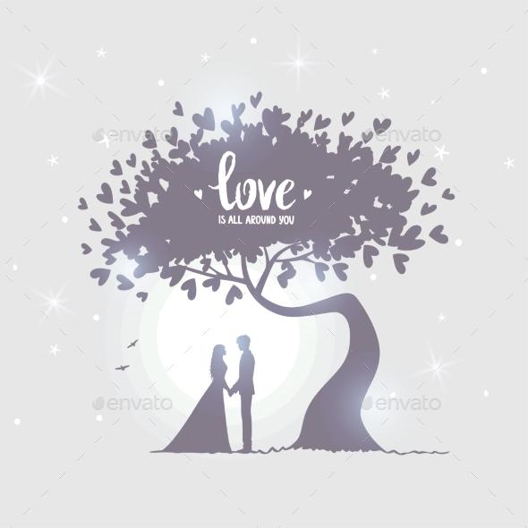 Love Tree - Valentines Seasons/Holidays