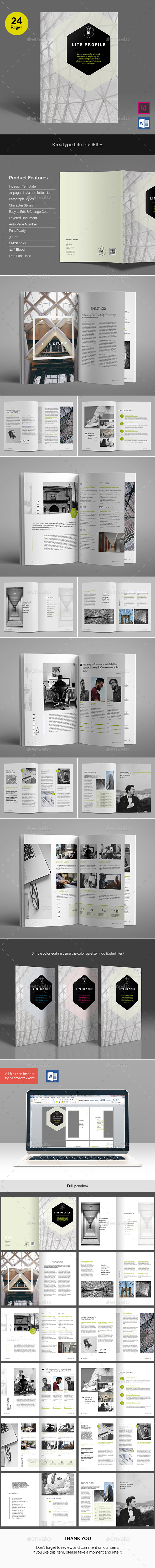Lite Profile - Corporate Brochures