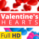 Valentine Hearts Animated Backgrounds  - VideoHive Item for Sale