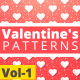 Valentine Hearts Animated Patterns Vol-1 - VideoHive Item for Sale