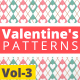 Valentine Hearts Animated Patterns Vol-3 - VideoHive Item for Sale