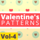 Valentine Hearts Animated Patterns Vol-4 - VideoHive Item for Sale