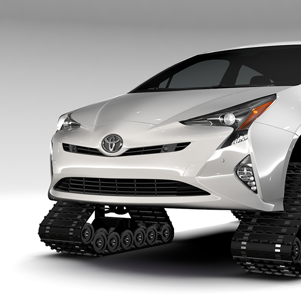 Toyota Prius Crawler 2017 - 3DOcean Item for Sale