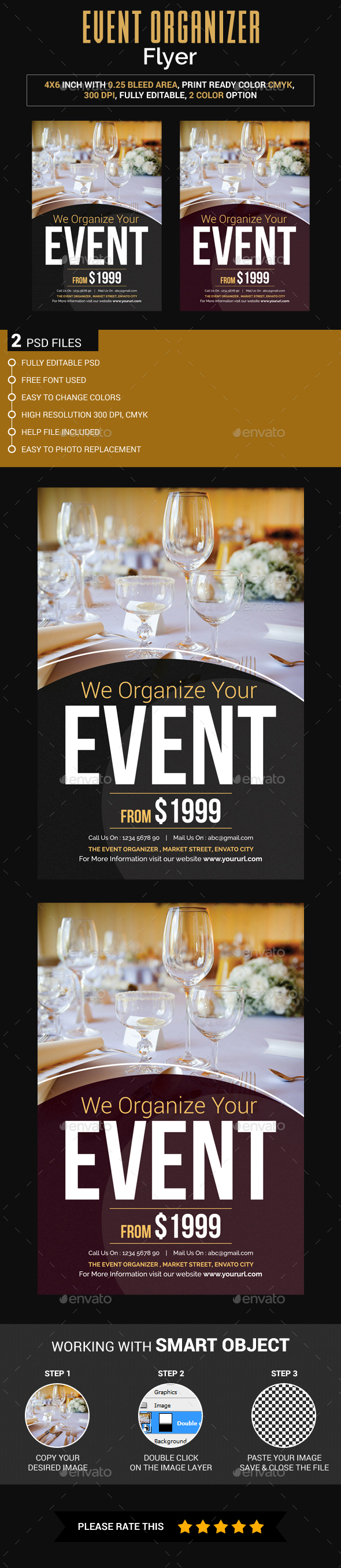 Event Organize Flyer - Events Flyers