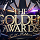 The Golden Awards WEB Banner - GraphicRiver Item for Sale
