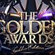 The Golden Awards WEB Banner - GraphicRiver Item for Sale