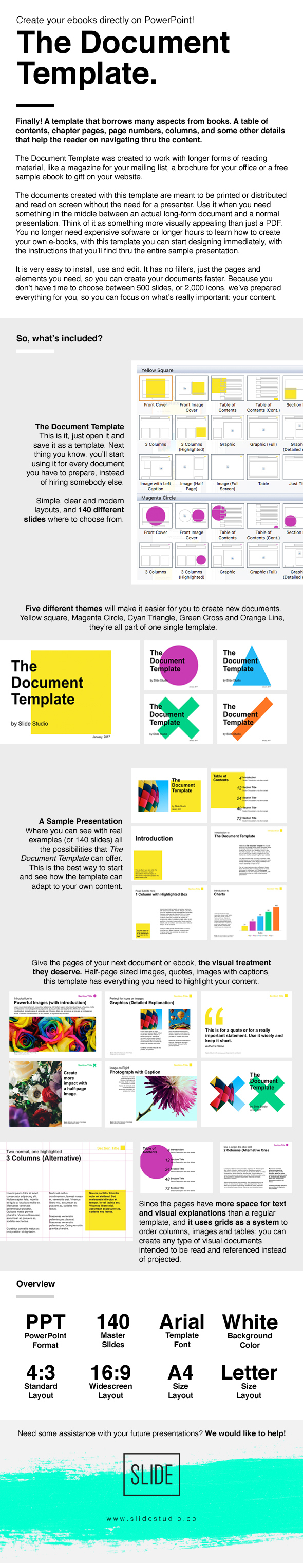 The Document Template - PowerPoint Templates Presentation Templates