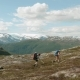 Two Backpackers Hike in Norway