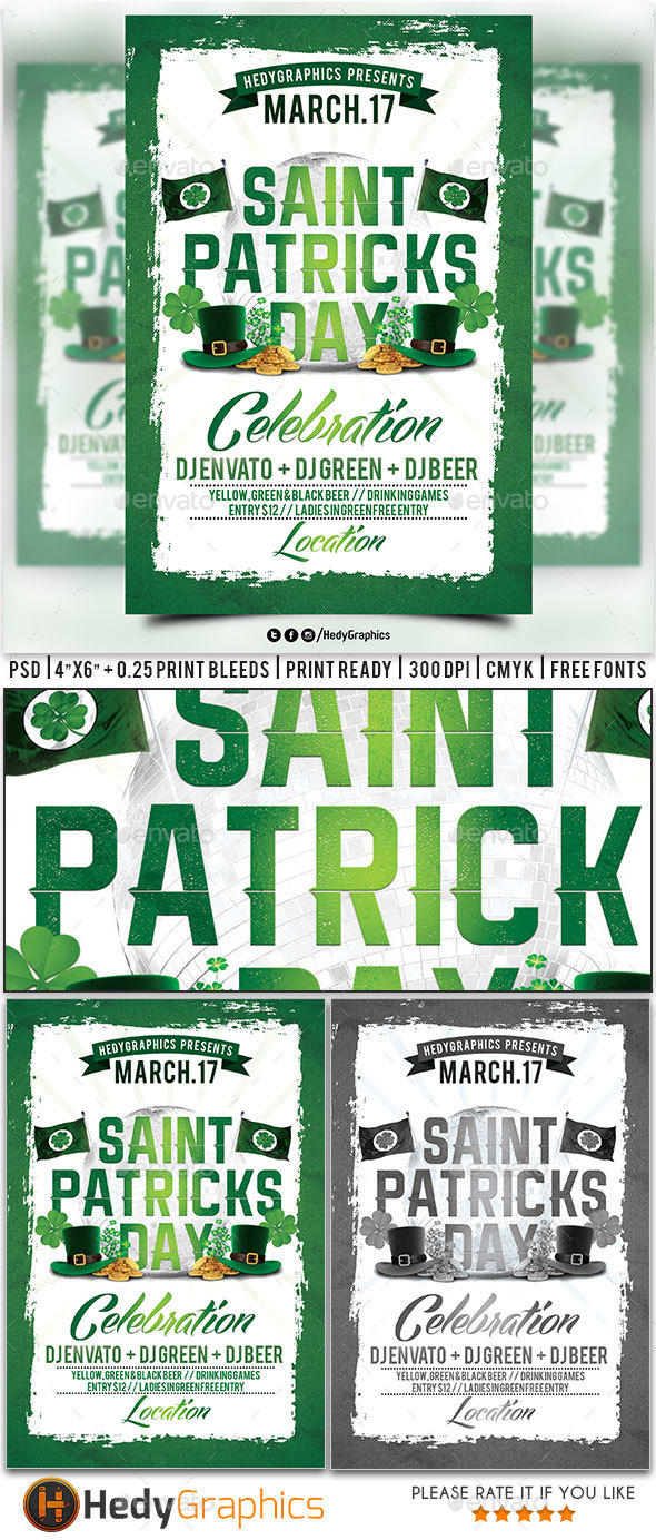 Saint Patricks Day Celebration - Clubs & Parties Events