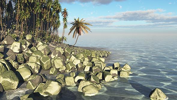 Beautiful Island - 3DOcean Item for Sale