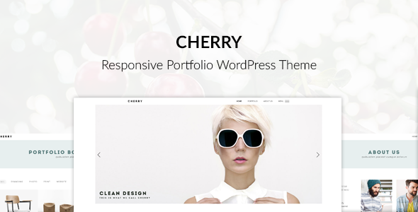 Cherry - Minimal Clean Portfolio WordPress Theme - Portfolio Creative