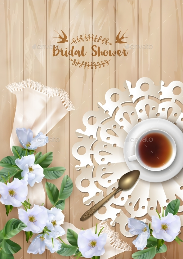Bridal Shower Invitation Template - Weddings Seasons/Holidays