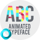 Colored Animated Typeface - VideoHive Item for Sale