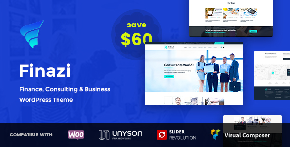 Finazi – Business & Finance WordPress Theme