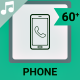 Phone Icons and Elements