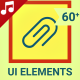 UI UX Interface Icons and Elements