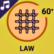 Law and Justice Icons and Elements