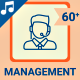 Management Icons and Elements