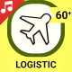 Logistic and Delivery Icons and Elements