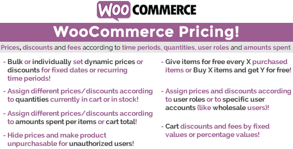WooCommerce Pricing! - CodeCanyon Item for Sale