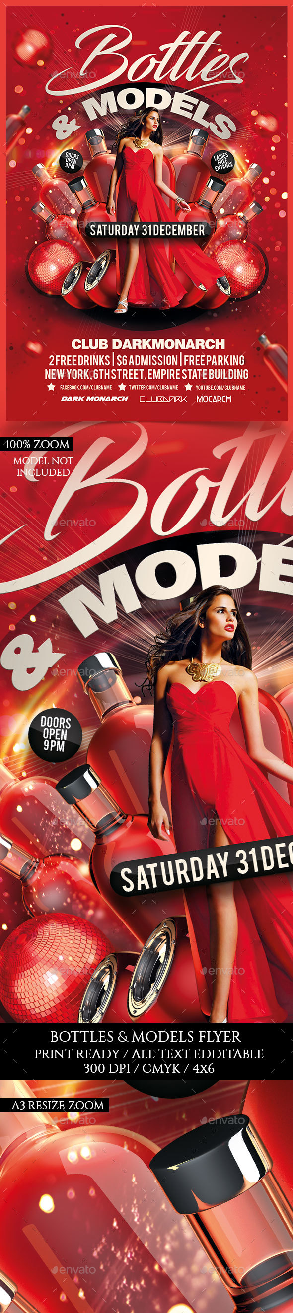 Bottles and Models Party - Clubs & Parties Events