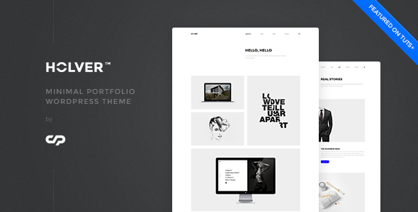 Holver - Minimal Portfolio WordPress Theme