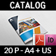 Stationery Products Catalog Brochure Template Vol.2 - 20 Pages - GraphicRiver Item for Sale