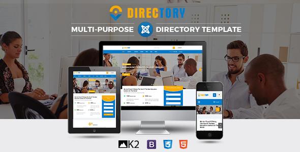 Directory – Responsive Ultimate Directory Joomla Template