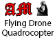 Flying Drone Quadrocopter