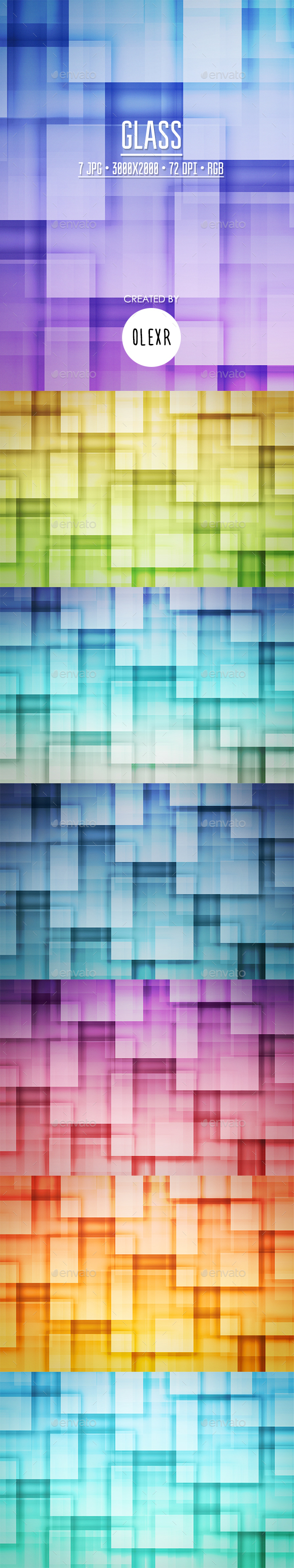 Glass Backgrounds - Abstract Backgrounds