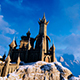 Fantastic Castle On The Big Mountain - VideoHive Item for Sale