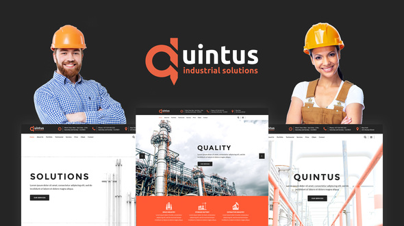 20+ Best Industrial & Manufacturing WordPress Themes 2019 13