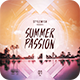 Summer Passion CD  Cover Artwork - GraphicRiver Item for Sale